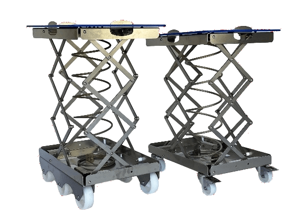 Ergonomic transport aid for boxes, pallets and big boxes